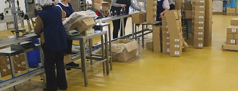 resin flooring in the pharmaceutical industry