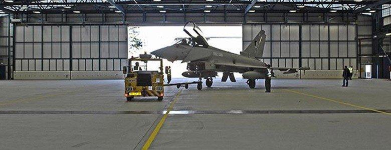 raf aircraft hanger