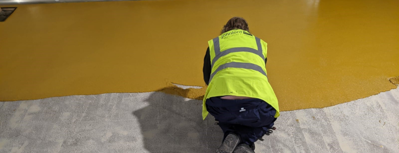 John Lord resin flooring for factory