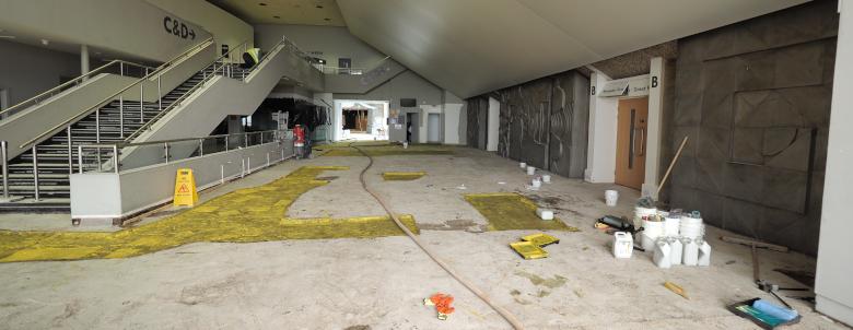 Aberystwyth University Flooring
